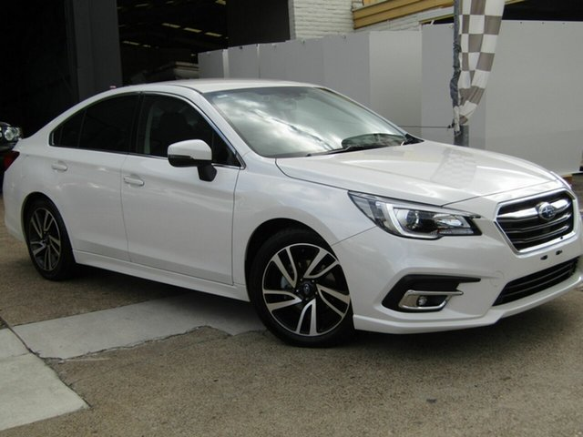 Used Subaru Liberty B6 MY19 2.5i CVT AWD Moorooka, 2019 Subaru Liberty B6 MY19 2.5i CVT AWD White 6 Speed Constant Variable Sedan