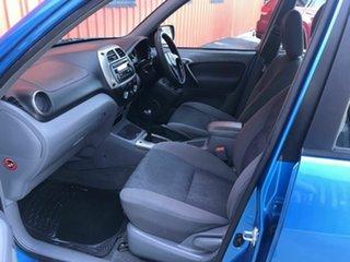 2003 Toyota RAV4 ACA21R Cruiser Blue 4 Speed Automatic Wagon