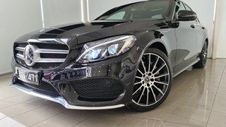2017 Mercedes-Benz C-Class W205 807+057MY C250 9G-Tronic Black 9 Speed Sports Automatic Sedan.