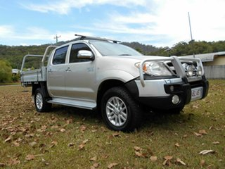 2006 Toyota Hilux GGN25R SR5 (4x4) Silver 5 Speed Manual Dual Cab Pick-up.