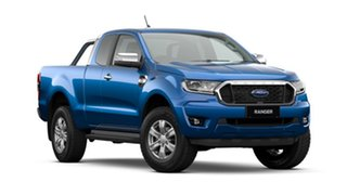 2020 Ford Ranger PX MkIII 2021.25MY XLT Blue Lightning 10 Speed Sports Automatic Super Cab Pick Up