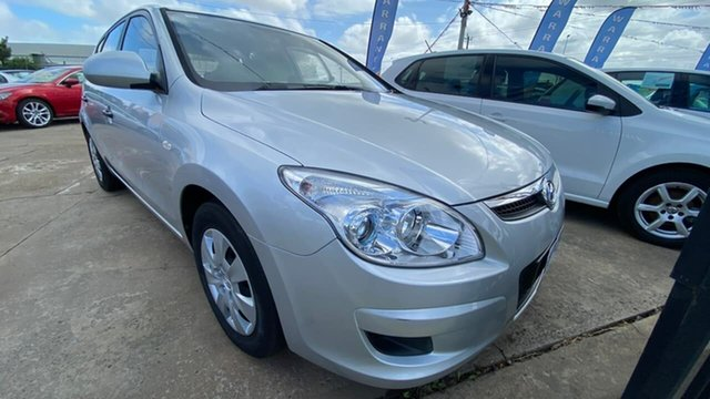 Used Hyundai i30 FD MY10 SX Maidstone, 2010 Hyundai i30 FD MY10 SX Silver 5 Speed Manual Hatchback