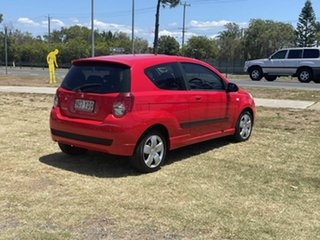 2009 Holden Barina TK MY10 Red 5 Speed Manual Hatchback