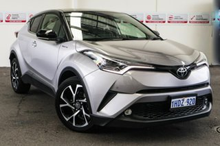 2019 Toyota C-HR NGX10R Koba S-CVT 2WD Shadow Platinum & Black Roof 7 Speed Constant Variable Wagon.
