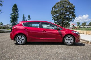 2016 Kia Cerato YD MY17 S Temptation Red 6 Speed Sports Automatic Hatchback