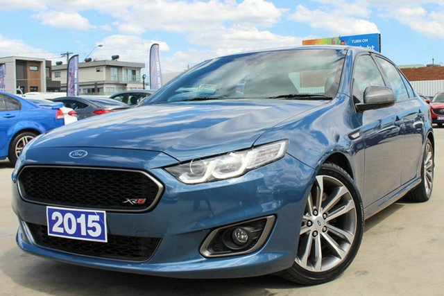 Used Ford Falcon FG X XR6 Turbo Coburg North, 2015 Ford Falcon FG X XR6 Turbo Blue 6 Speed Sports Automatic Sedan