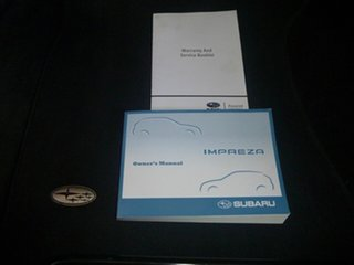 2008 Subaru Impreza G3 MY08 RS AWD Red 4 Speed Sports Automatic Hatchback.