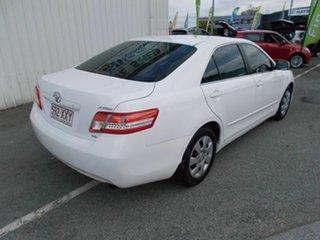 2009 Toyota Camry Altise White 5 Speed Automatic Sedan