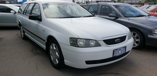 2003 Ford Falcon BA XT White 4 Speed Sports Automatic Wagon.