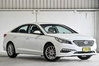 2016 Hyundai Sonata LF2 MY16 Active White 6 Speed Sports Automatic Sedan.