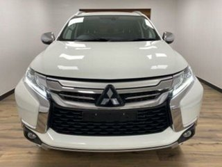 2019 Mitsubishi Pajero Sport QE MY19 GLS (4x4) 7 Seat White 8 Speed Automatic Wagon.
