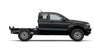 2021 Ford Ranger PX MkIII 2021.25MY XL Black 6 Speed Sports Automatic Super Cab Chassis