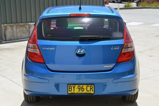2010 Hyundai i30 FD MY11 SLX Blue 5 Speed Manual Hatchback.