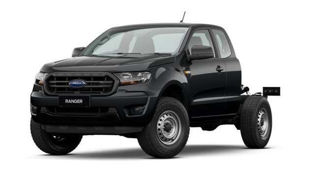 New Ford Ranger PX MkIII 2021.25MY XL Bendigo, 2021 Ford Ranger PX MkIII 2021.25MY XL Black 6 Speed Sports Automatic Super Cab Chassis