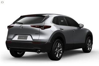 2020 Mazda CX-30 DM4WLA G25 SKYACTIV-Drive i-ACTIV AWD Astina Silver 6 Speed Sports Automatic Wagon