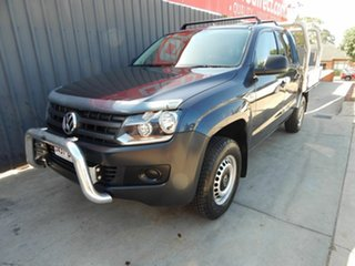 2011 Volkswagen Amarok 2H MY12 TDI400 4x2 Blue 6 Speed Manual Cab Chassis.