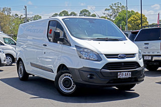 2015 Ford Transit Custom VN 330L Low Roof LWB White 6 Speed Manual Van.