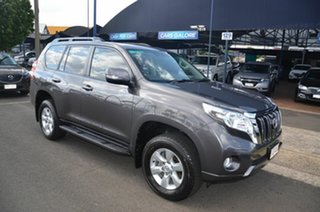 2014 Toyota Landcruiser Prado KDJ150R MY14 GXL (4x4) Grey 5 Speed Sequential Auto Wagon.