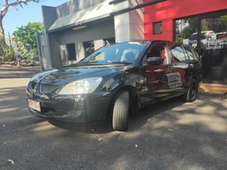 2006 Mitsubishi Lancer CH MY06 ES Black 4 Speed Sports Automatic Wagon