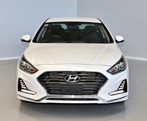 2017 Hyundai Sonata LF4 MY18 Active White 6 Speed Sports Automatic Sedan