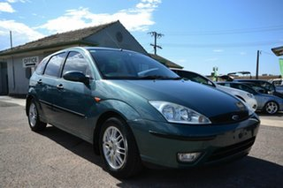 2002 Ford Focus LR CL Blue 4 Speed Automatic Hatchback.