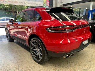 2019 Porsche Macan 95B S Red Sports Automatic Dual Clutch Wagon