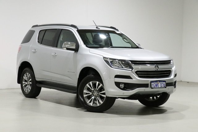 Used Holden Trailblazer RG MY20 LTZ (4x4) Bentley, 2019 Holden Trailblazer RG MY20 LTZ (4x4) Silver 6 Speed Automatic Wagon