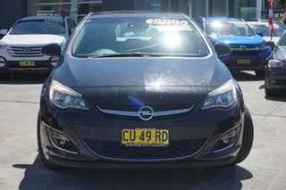 2012 Opel Astra AS Select Black 6 Speed Sports Automatic Hatchback.