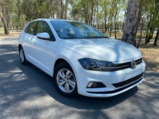 2020 Volkswagen Polo AW MY20 85TSI DSG Comfortline Pure White 7 Speed Sports Automatic Dual Clutch.