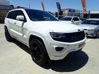 2014 Jeep Grand Cherokee WK MY2014 Blackhawk Candy White & Black Roof 8 Speed Sports Automatic Wagon.