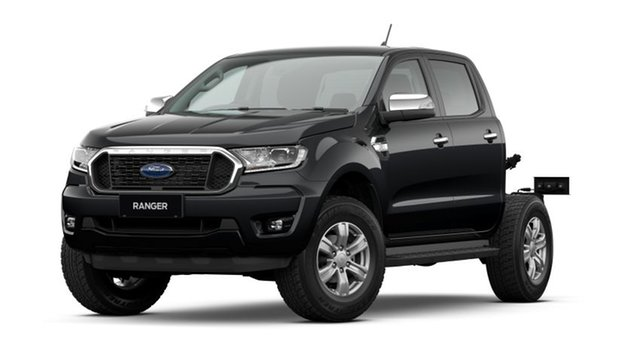 New Ford Ranger PX MkIII 2021.75MY XLT Double Cab Dandenong, 2021 Ford Ranger PX MkIII 2021.75MY XLT Double Cab Swl 6 Speed Sports Automatic Double Cab Chassis