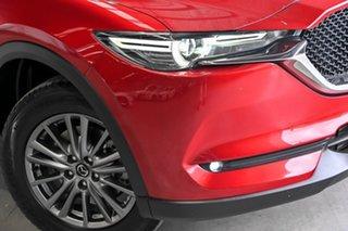 2017 Mazda CX-5 KE1022 Maxx SKYACTIV-Drive i-ACTIV AWD Sport Red 6 Speed Sports Automatic Wagon.