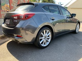 2017 Mazda 3 BN5438 SP25 SKYACTIV-Drive GT Machine Grey 6 Speed Sports Automatic Hatchback.