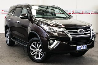 2015 Toyota Fortuner GUN156R Crusade Phantom Brown 6 Speed Automatic Wagon.