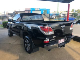 2013 Mazda BT-50 MY13 XT (4x4) Black 6 Speed Manual Freestyle Cab Chassis.