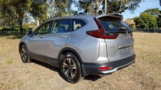 2020 Honda CR-V RW MY21 VTi FWD 7 Lunar Silver 1 Speed Automatic Wagon