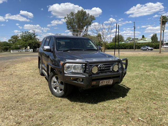 Used Toyota Landcruiser VDJ200R MY10 Sahara Moree, 2012 Toyota Landcruiser VDJ200R MY10 Sahara Grey 6 Speed Sports Automatic Wagon