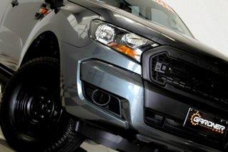2016 Ford Ranger PX MkII XL 2.2 Hi-Rider (4x2) Grey 6 Speed Automatic Crew Cab Pickup.