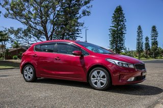 2016 Kia Cerato YD MY17 S Temptation Red 6 Speed Sports Automatic Hatchback.