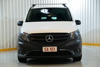 2017 Mercedes-Benz Vito 447 119 BlueTEC LWB Crew Cab White 7 Speed Automatic Van.