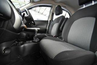 2015 Nissan Micra K13 Series 4 MY15 ST White 5 Speed Manual Hatchback