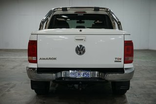 2015 Volkswagen Amarok 2H MY15 TDI420 4Motion Perm Ultimate Candy White 8 Speed Automatic Utility