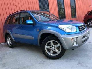 2003 Toyota RAV4 ACA21R Cruiser Blue 4 Speed Automatic Wagon.