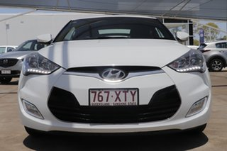 2017 Hyundai Veloster FS5 Series II Coupe D-CT White 6 Speed Sports Automatic Dual Clutch Hatchback