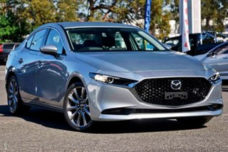 2020 Mazda 3 BP2SLA G25 SKYACTIV-Drive GT Silver 6 Speed Sports Automatic Sedan.