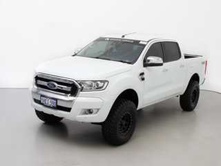 2018 Ford Ranger PX MkII MY18 XLT 3.2 (4x4) White 6 Speed Manual Double Cab Pick Up