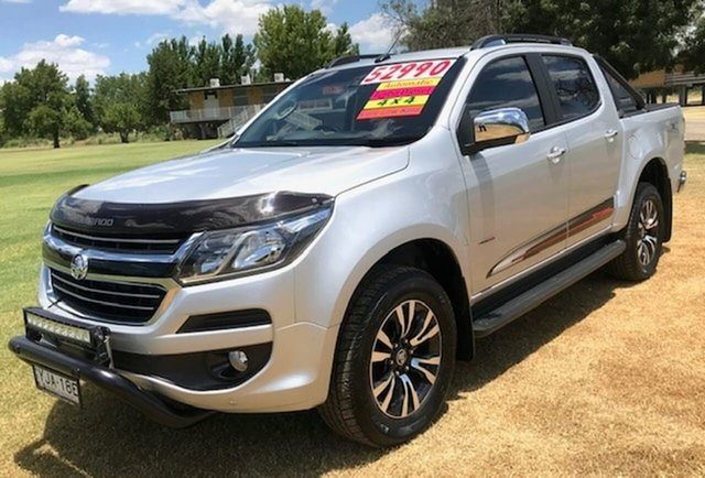 Used Holden Colorado RG MY20 Storm Pickup Crew Cab Tamworth, 2019 Holden Colorado RG MY20 Storm Pickup Crew Cab Silver 6 Speed Sports Automatic Utility
