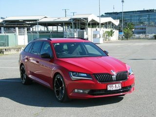 2019 Skoda Superb NP MY19 206 TSI Sportline Red 6 Speed Direct Shift Wagon.