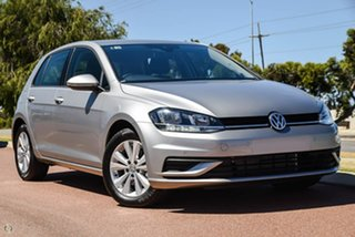 2020 Volkswagen Golf 7.5 MY20 110TSI DSG Trendline Silver 7 Speed Sports Automatic Dual Clutch.