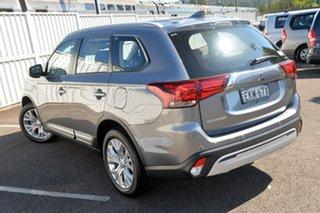 2019 Mitsubishi Outlander ZL MY20 ES AWD ADAS Grey 6 Speed Constant Variable Wagon.